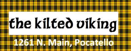 Kilted Viking logo