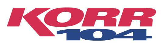 KORR FM 104 logo