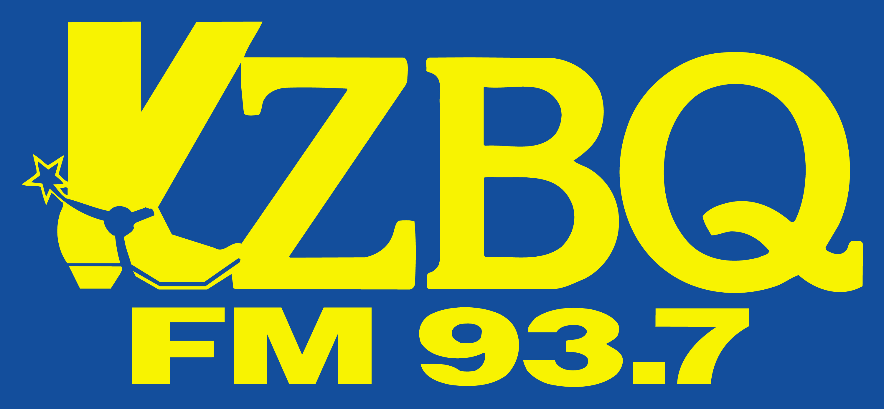 KZBQ FM 93.7 logo
