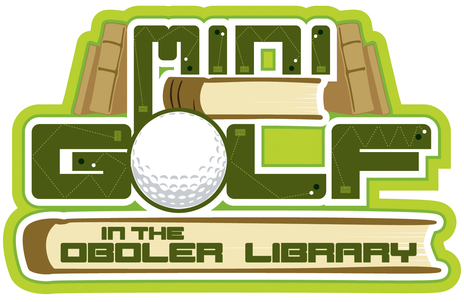 Mini Golf Event at the Library